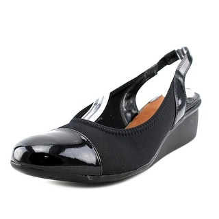 Ros Hommerson EMMA Women SS Open Toe Synthetic Black Wedge Heel