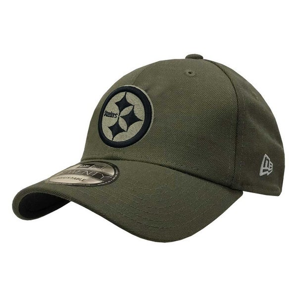 aca0d7541 Shop New Era 2018 NFL Pittsburgh Steelers Salute to Service Baseball Cap  920 Military - Free Shipping On Orders Over  45 - Overstock - 23577494