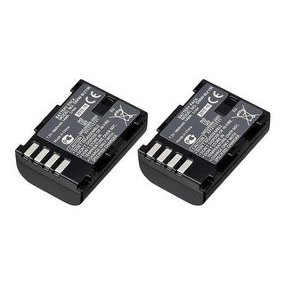Battery for Panasonic DMWBLF19 / DMWBLF19E (2-Pack) Battery