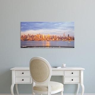Easy Art Prints Panoramic Images's 'Midtown Manhattan New York City NY' Premium Canvas Art