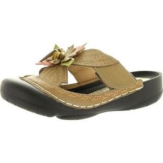 Corkys Womens Elite Fern Clogs Mules Sandal Shoes