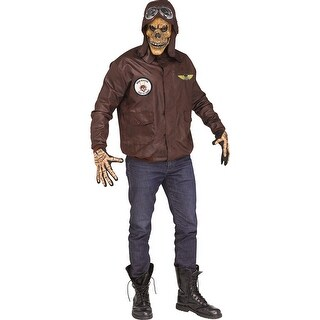 Mens Scare Force Horror Aviator Costume - standard - one size