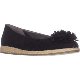 Bandolino Blondelle Ballet Flats, Black/Black - 8 us