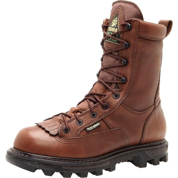 Rocky Outdoor Boots Mens BearClaw 3D GTX Outdoor Brown