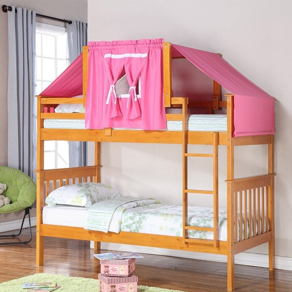 Donco Kids Kids Mission Twin Tent Bunk Bed. Opens flyout.