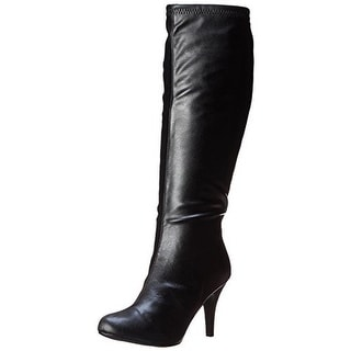 Diba Girl Womens Time Crunch Knee-High Boots Faux Leather Solid