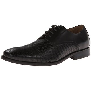Vince Camuto NEW Black Shoes Size 13D Perforated Oxfords Leather