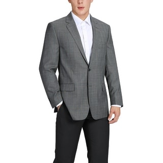 Link to Men's Classic Fit Plaid Blazer Wool Sport Coat Similar Items in Sportcoats & Blazers