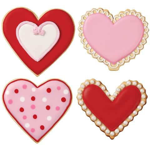 Cookie Cutter Set 4 Pieces-Heart