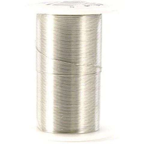Craft Wire 28 Gauge 35yd-Silver - Silver