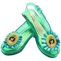 Jasmine Sparkle Shoes Child Costume Accessory