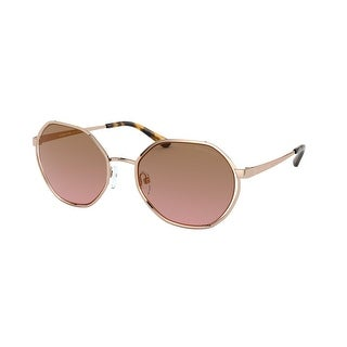 Link to Michael Kors MK1072 110814 57 Rose Gold Woman Irregular Sunglasses Similar Items in Women's Sunglasses