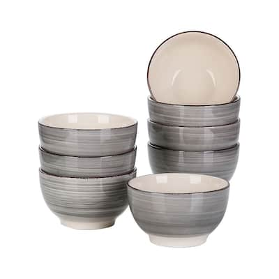vancasso Bella 5.5 Inch Porcelain Large Serving Bowl Set,20 Oz.