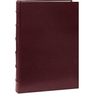 Pioneer Photo Albums Leather Bi-Directional 4x6 Photo Album (Burgundy)