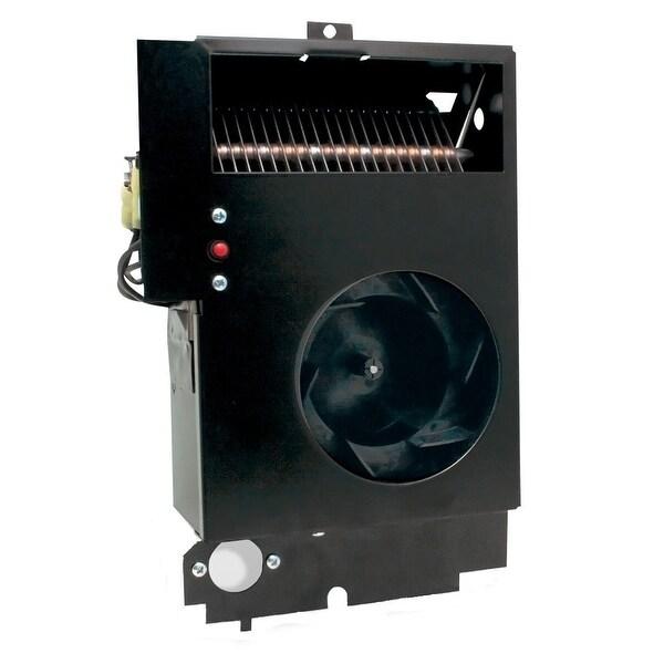 Cadet CM198 Com-Pak Max 6485 BTU 208 Volt Electric Wall Heater Assembly - Black