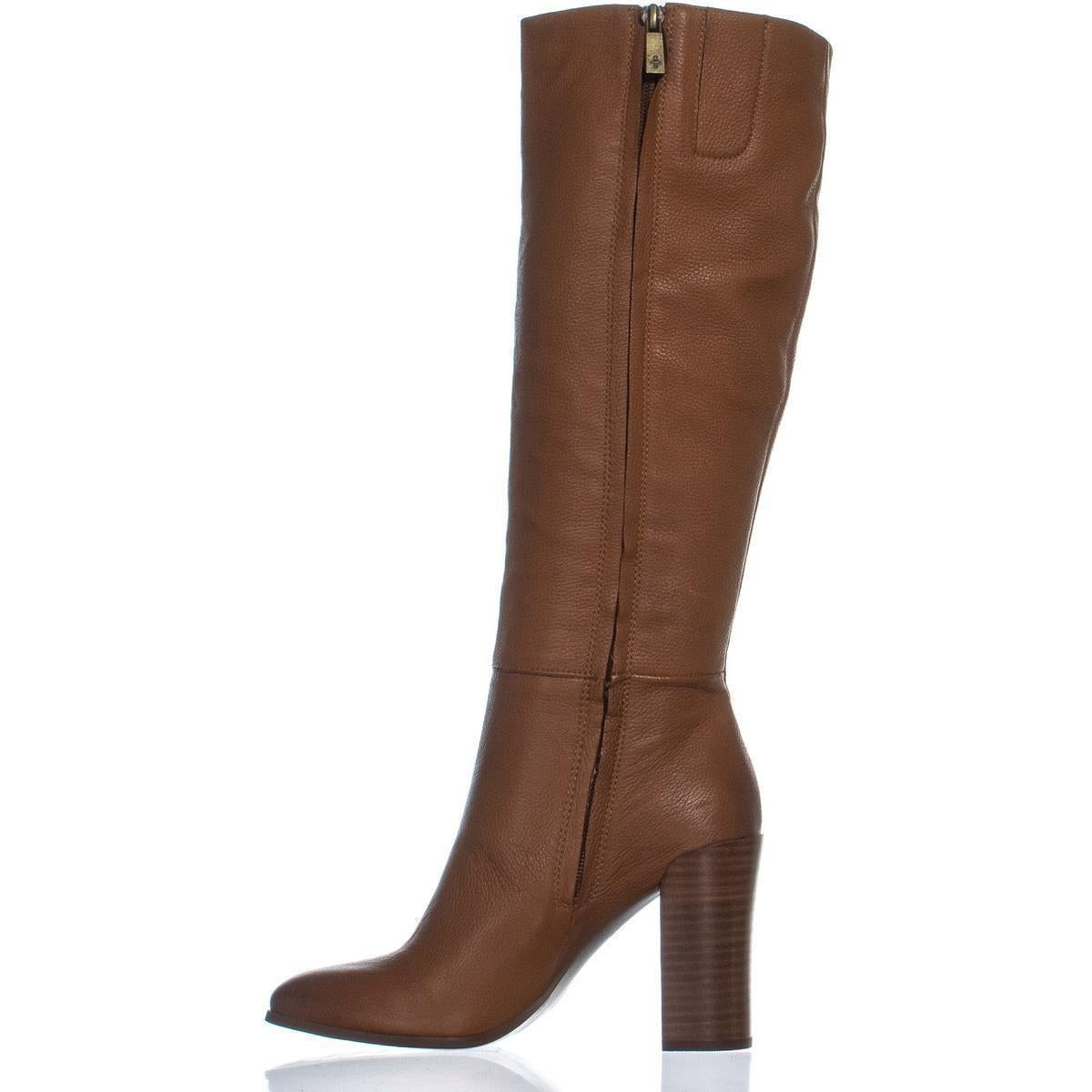 Kenneth Cole New Justin Knee High Dress Stiefel, Cognac York