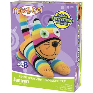 Claire The Cat Sock Animal Kit-