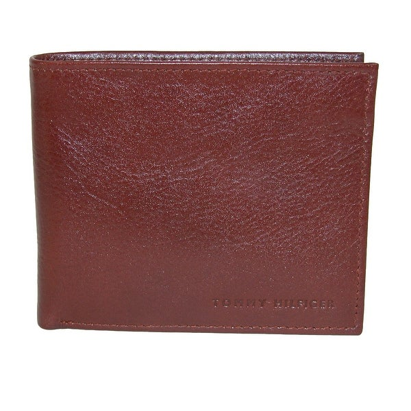 Tommy Hilfiger Men's Leather York Passcase Bilfold Wallet - One size