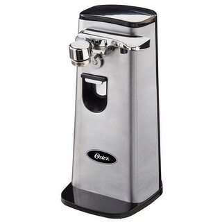 Oster FPSTCN1300-022 Can Opener With Retractable Cord, Stainless Steel