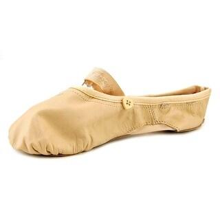 Capezio Love W Round Toe Leather Ballet Flats