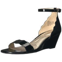 Bandolino Womens Opali Open Toe Casual Ankle Strap Sandals