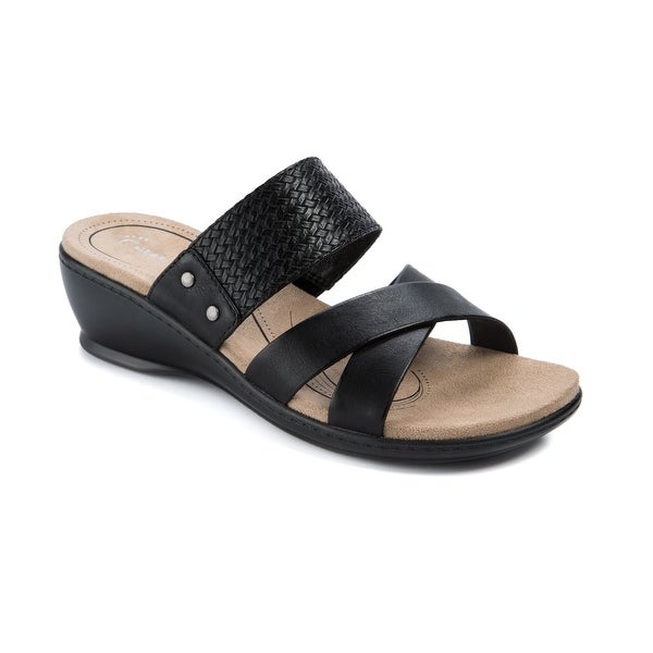 Wear.Ever. Natoya Women's Sandals & Flip Flops Black