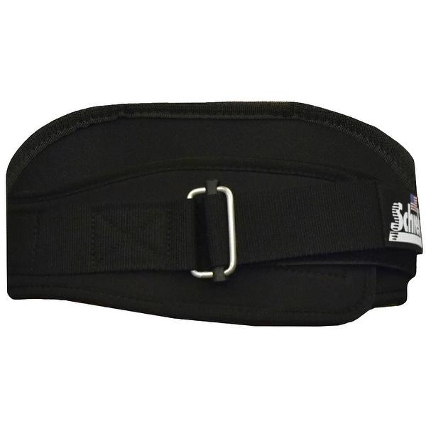 "Schiek Sports Model 2006 Nylon 6"" Weight Lifting Belt - Black"