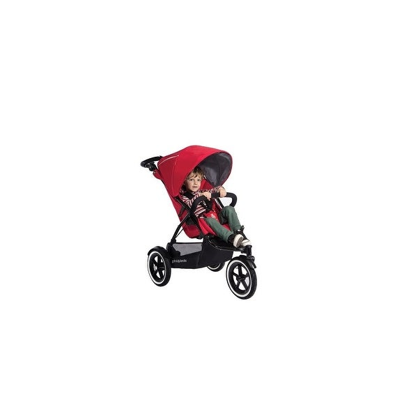 Phil and Teds Sport Buggy-Cherry Sport Inline Stroller