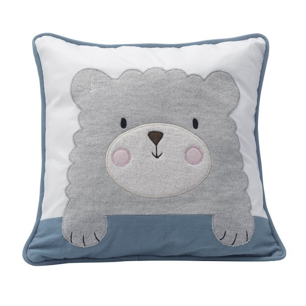 Shop Lambs Ivy Gray Happi By Dena™ Little Llama Decorative Pillow Classy Little Girl Decorative Pillows