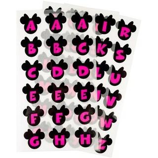 Disney Minnie Mouse Iron-On Alphabet Transfer Sheets-Minnie Mouse