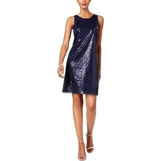 MSK Womens Cocktail Dress Sleeveless Sparkle