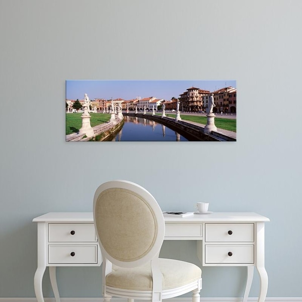 Easy Art Prints Panoramic Images's 'Prato Della Valle, Padua, Italy' Premium Canvas Art