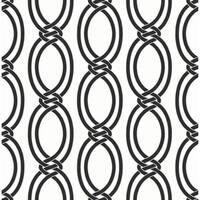 Brewster 2625-21834 Infinity Black Geometric Stripe Wallpaper - black geometric