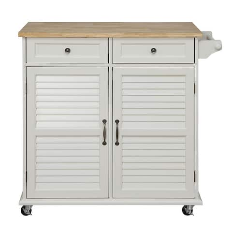 """Small Kitchen Cart 37.8""""Lx16""""Wx35.9""""H. By Belray"""