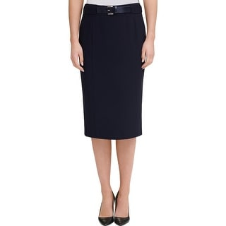 Link to Tommy Hilfiger Womens Pencil Skirt Belted Knee-Length Similar Items in Big & Tall