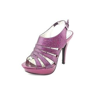 Style & Co. NEW Purple Glitter Sierria Women's Shoes 7M Strappy Pumps