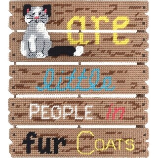 "Pallet-Ables Cats Are Plastic Canvas Kit-10.5""X11.5""X1.25"" 7"