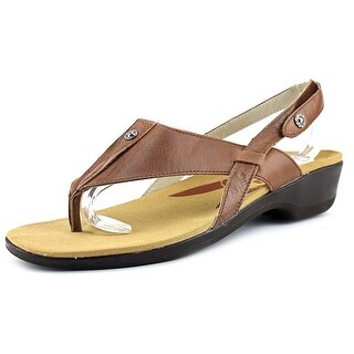 Propet Mariko 2A Open Toe Leather Thong Sandal