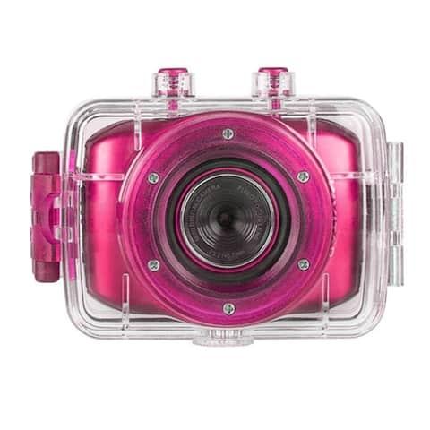 Vivitar DVR-781HD Pink Action Camcorder 1.3MP