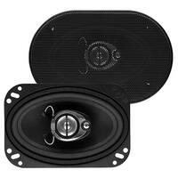 Sound Storm SLQ346 225 Watt (Per Pair), 4 x 6 Inch, Full Range, 3 Way Car Speakers (Sold in Pairs)