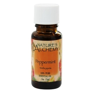 Nature's Alchemy Essential Oil Peppermint 0.5-ounce