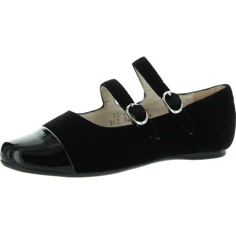Venettini Girls 55-Sara Dress Double Strap Flats Shoes