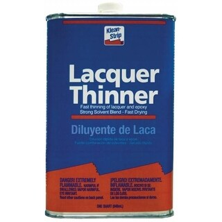 Wm Barr QML170SC 1 Quart Klean-Strip Lacquer Thinner - Pack of 6