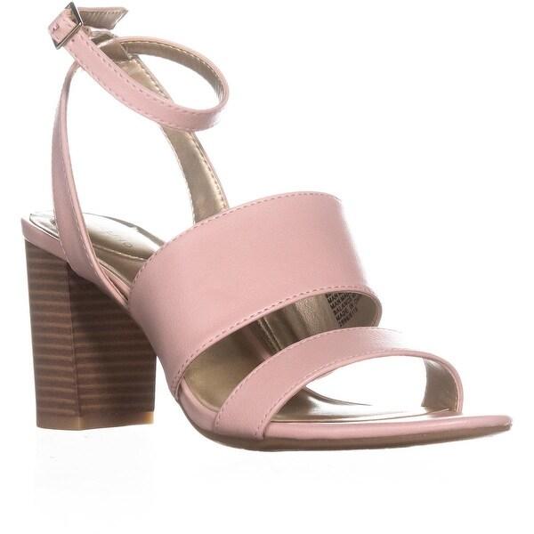 Bandolino Anchor Ankle Strap Heeled Sandals, Light Pink