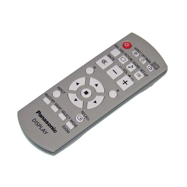 OEM Panasonic Remote Control Originall Shipped With: TH50PF20, TH50PF20U, TH42PH12L, TH42PH12U, TH42PD12, TH42PD12U