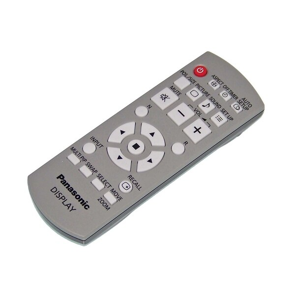 OEM Panasonic Remote Control Originall Shipped With: TH65PF12U, TH65PF12UK, TH-42PF12U, TH-42PF12UK TH-58PF12 TH-58PF12U