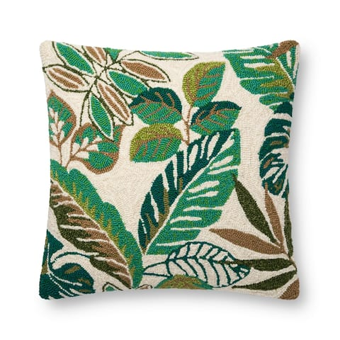 Alexander Home Jamaica Tropical Palm Throw Pillow