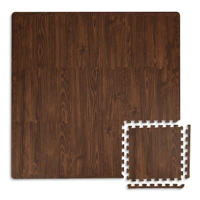 Craftsman Interlocking Floor Foam Tiles - 36in x 36in x 0.4in