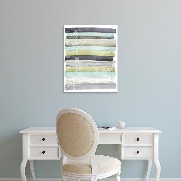 Easy Art Prints Skyline's 'Wavelet II' Premium Canvas Art