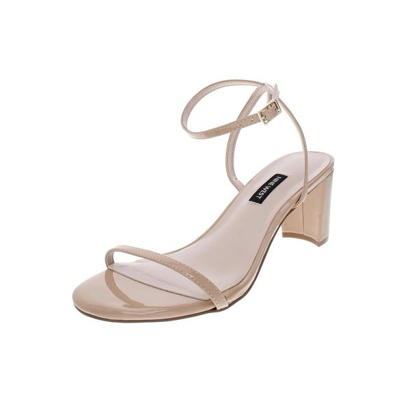 860f76e0e8f Shop Nine West Womens Provein Dress Sandals Solid Block Heel - Free ...